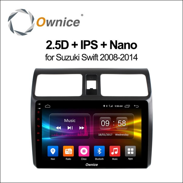 Android Ownice C500+ Swift  10.1inch 2008/14-OL1622