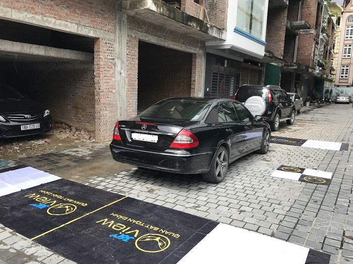 Camera 360 độ OView Mercedes E W211