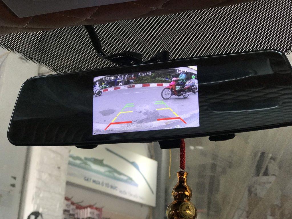 Camera hành trình Gương 2 mắt blurams