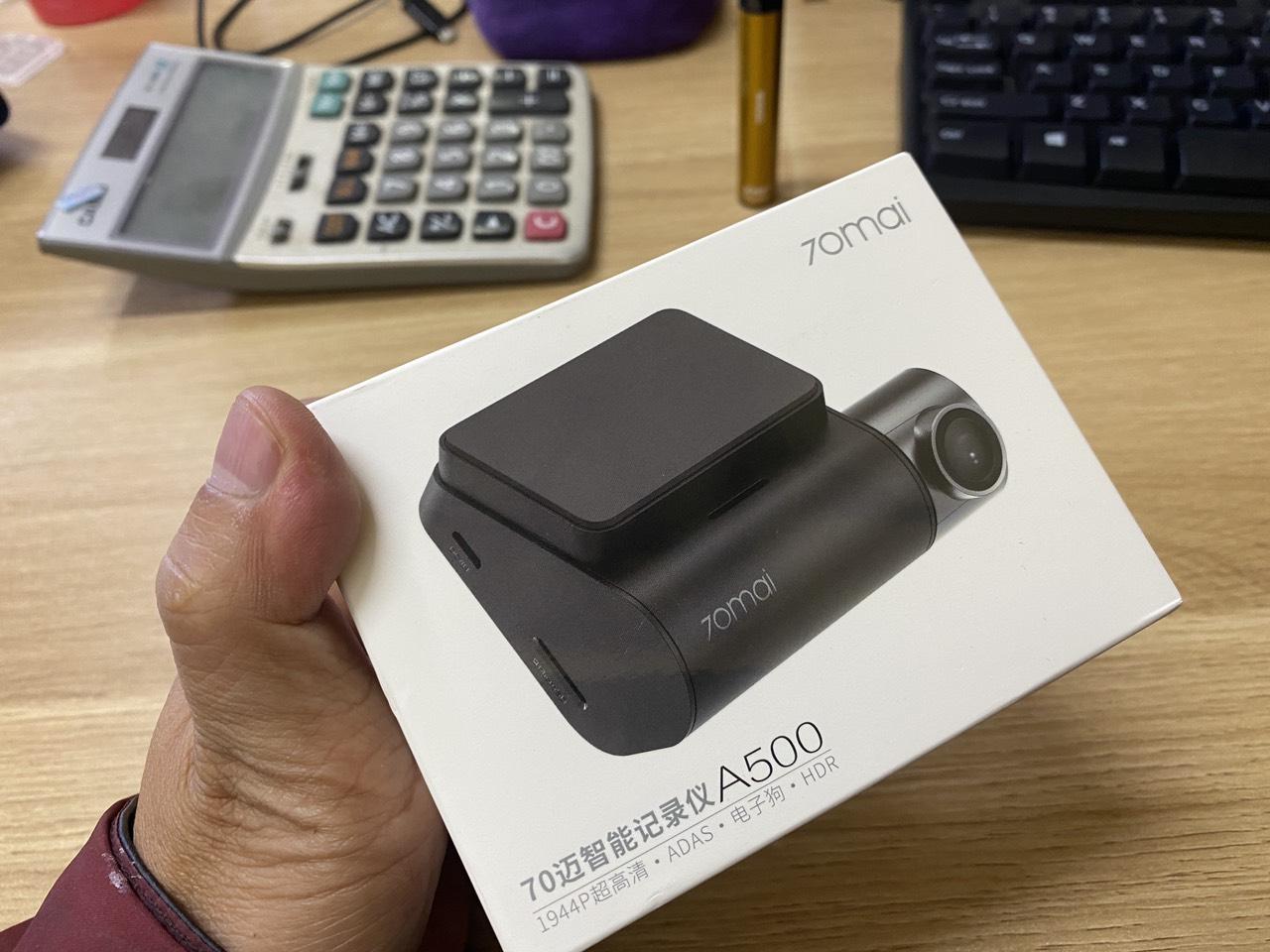 update firmware tieng Anh 70mai A500