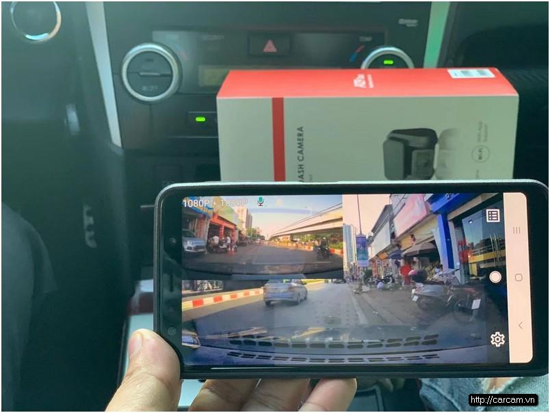 camera hanh trinh Viofo 4K Pro A129