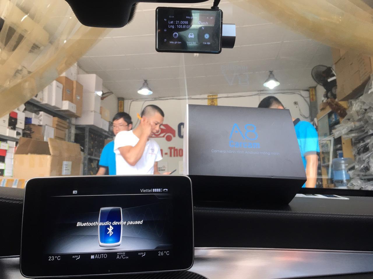 camera hanh trinh A8 android Carcam