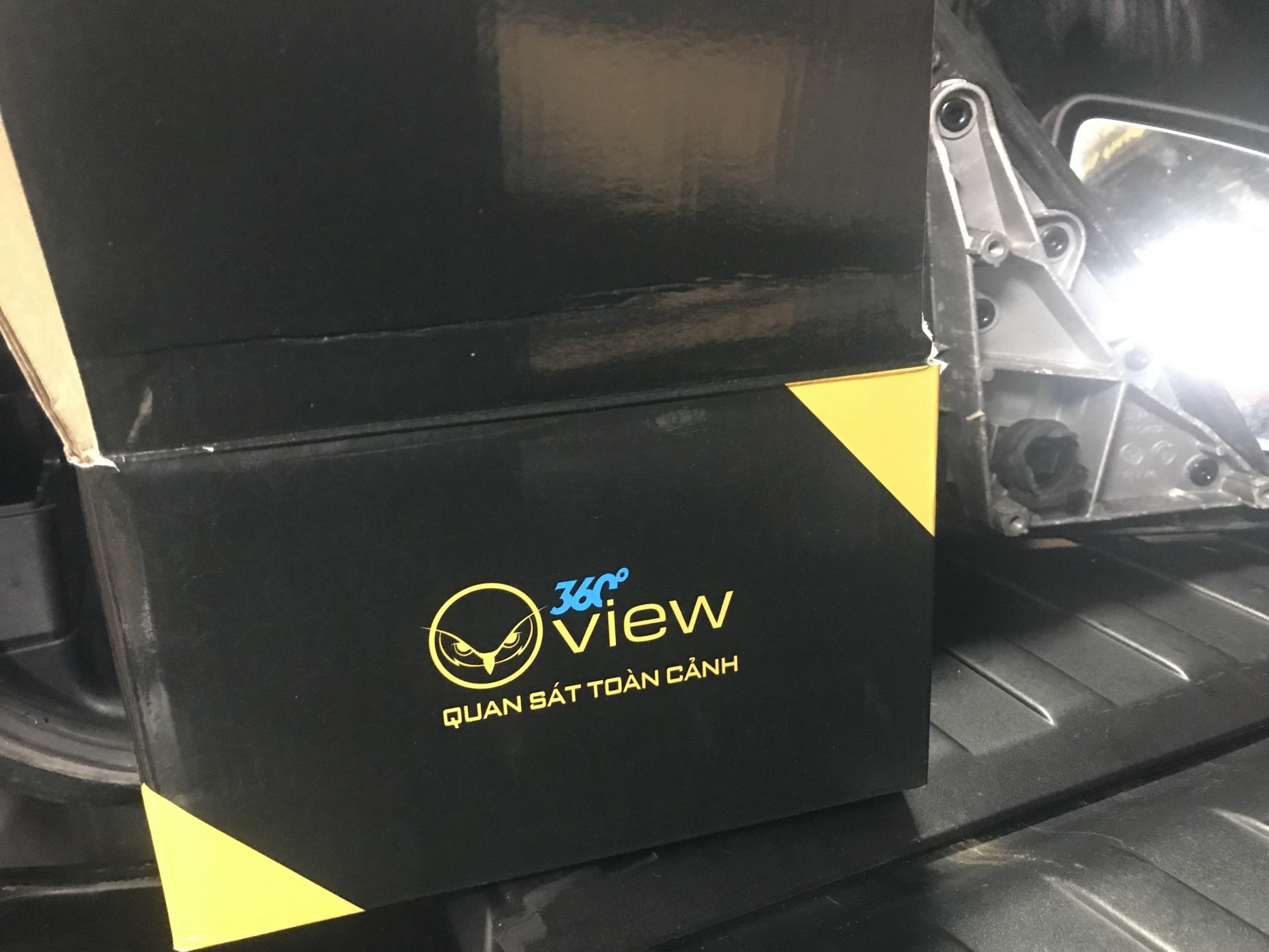 camera 360 do OView x5 bmw