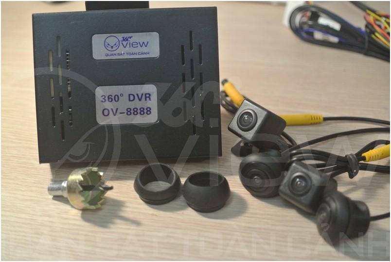 camera 360 do cho ô tô Oview