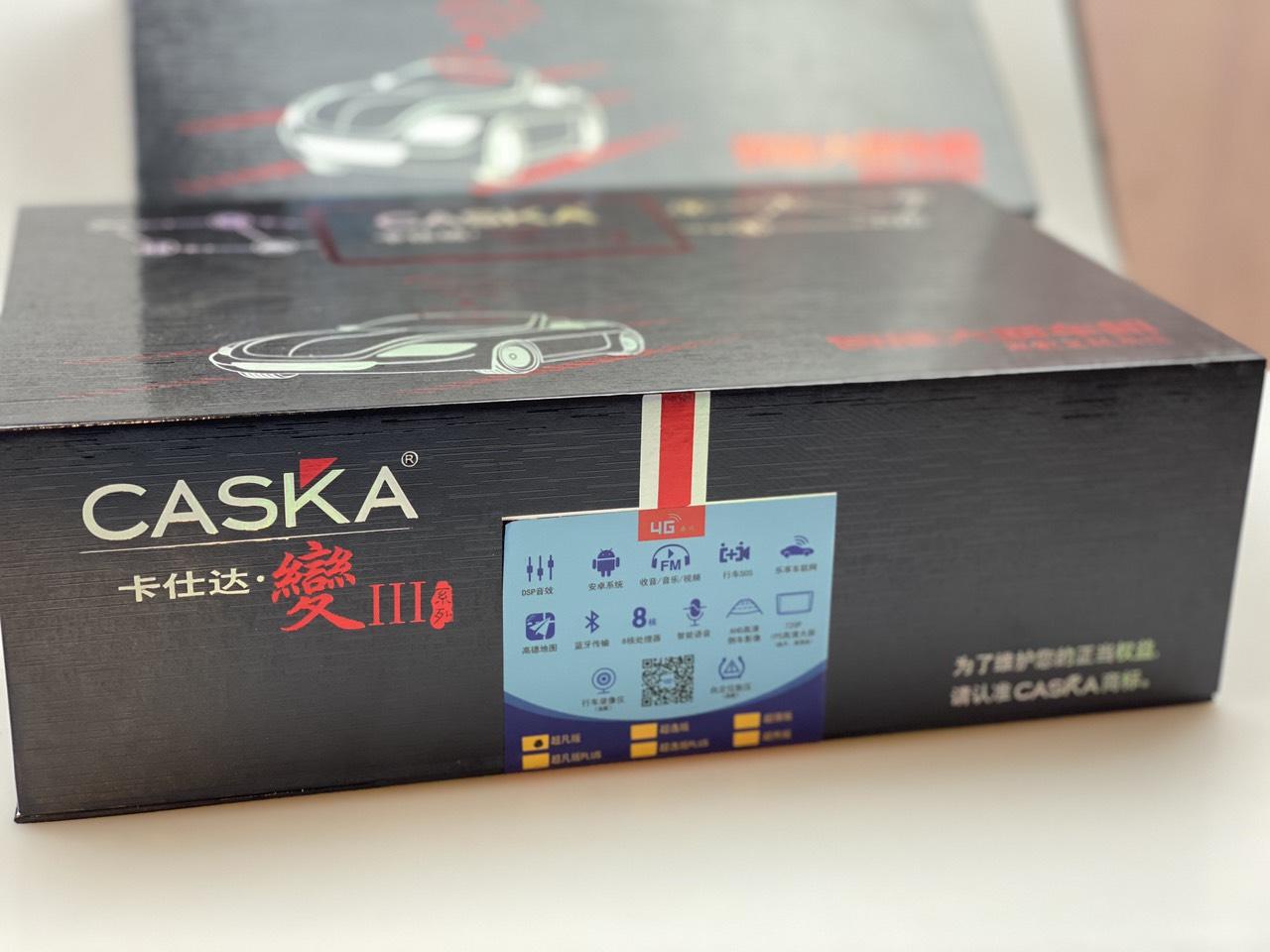 MÀN HÌNH ANDROID DVD CASKA 4G LTE