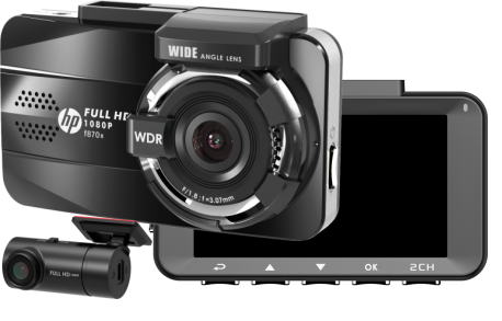 Camera hanh trinh HP f870x wifi gps dual len