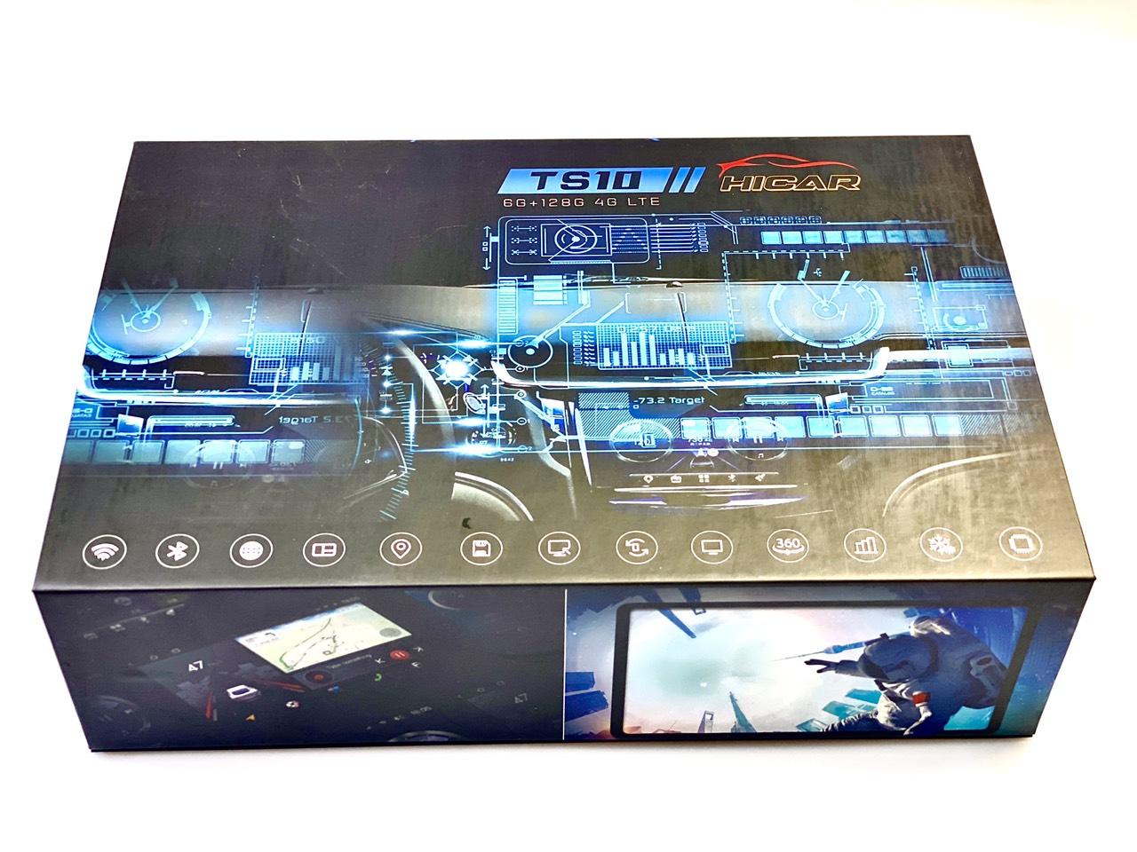 màn hình android TS10 6G 128G