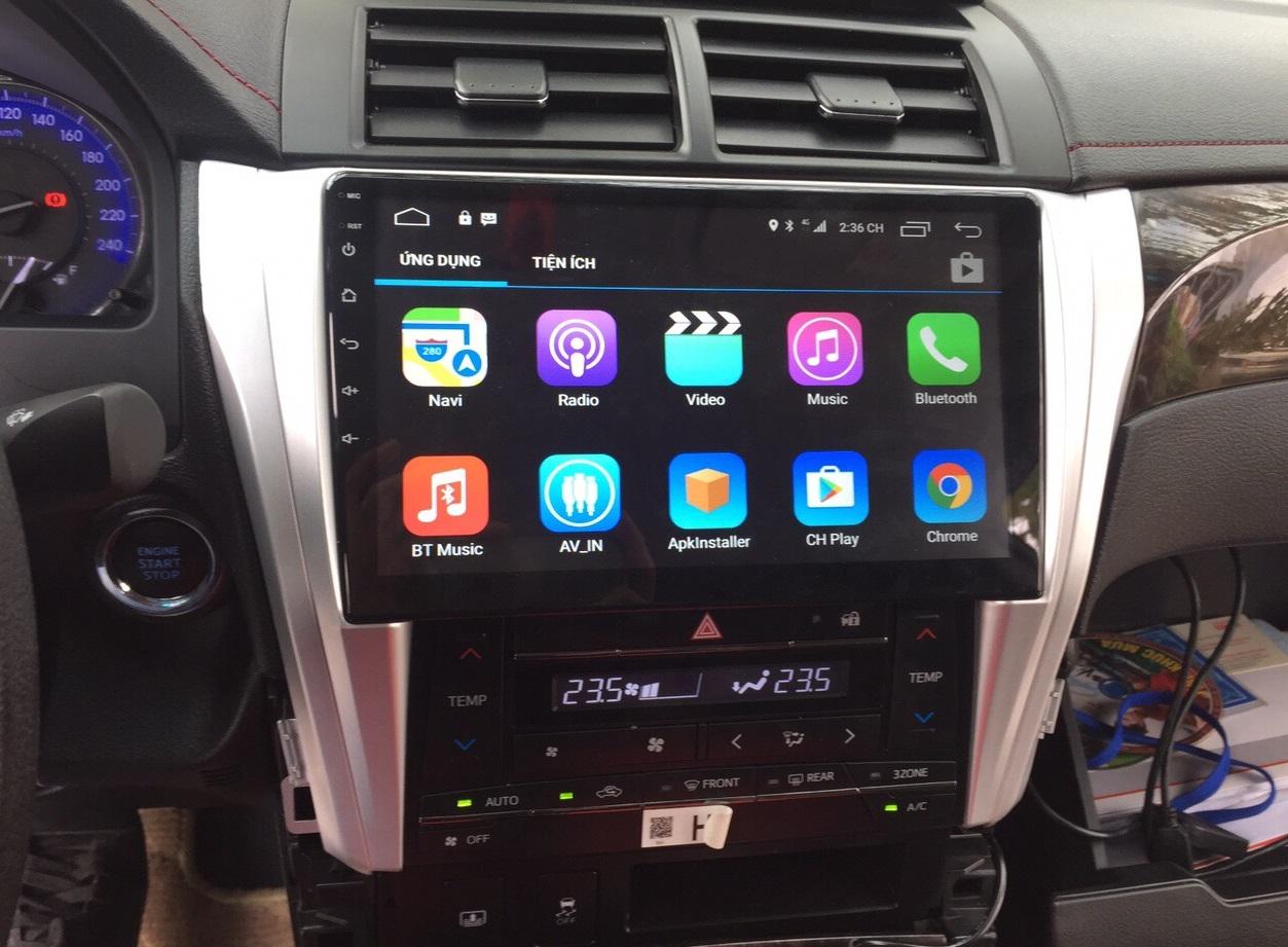 mua màn hình trên ô tô