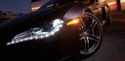 Đèn pha led ô tô là ánh sáng định hướng, không khuếch tán nên chất lượng ánh sáng rất tốt