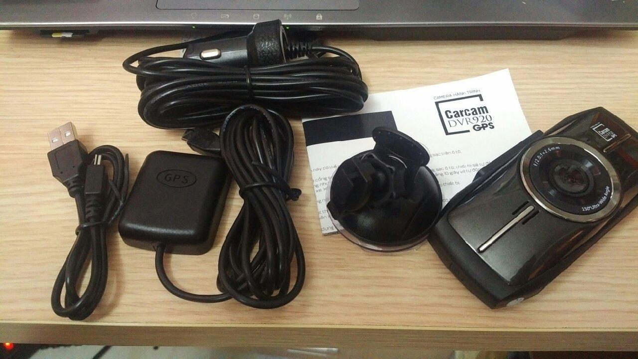 vntis - Camera hành trình DVR920 GPS - 6