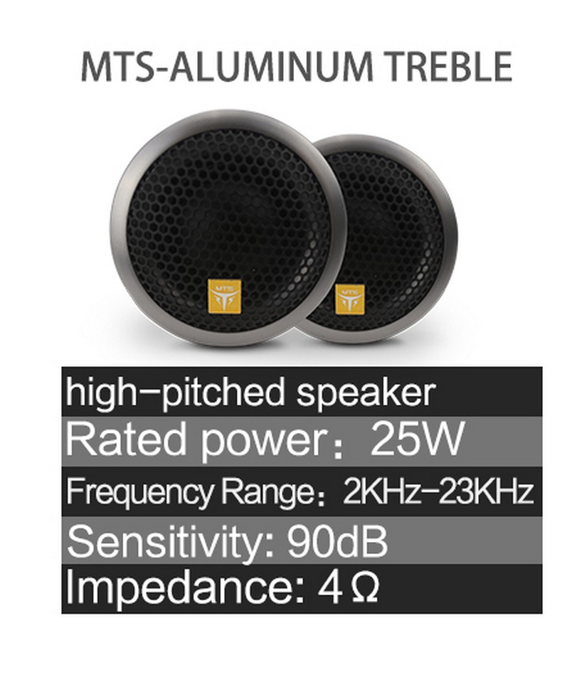 Loa Treble MTS - Alunium Tweeter