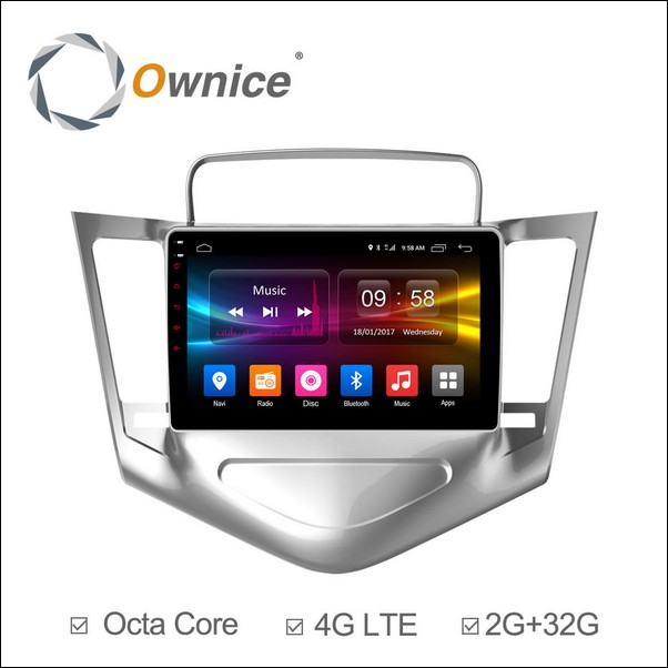 Android Ownice C500+ Cruze  9inch 2009/14-OL9222