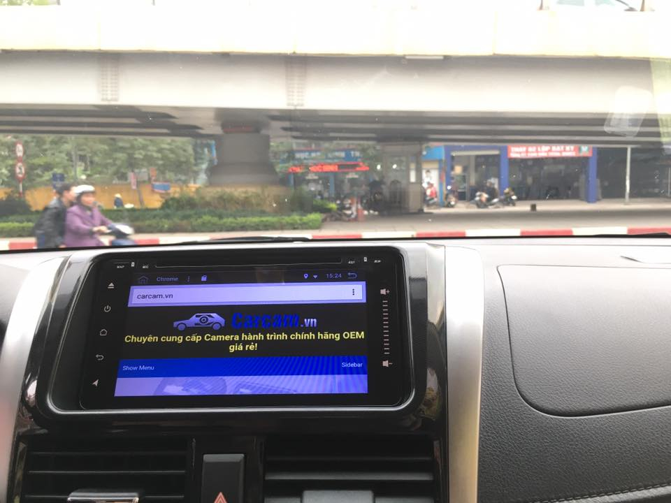 DVD android Toyota GPS Wifi