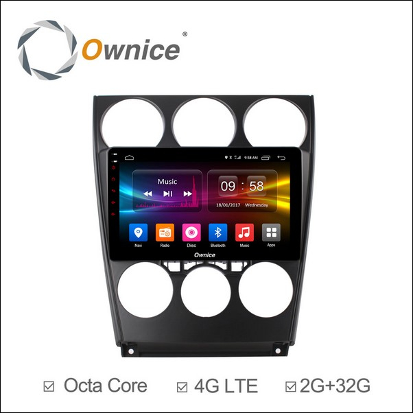 Android Ownice C500+ Mazda 9inch 2006/15-OL9505