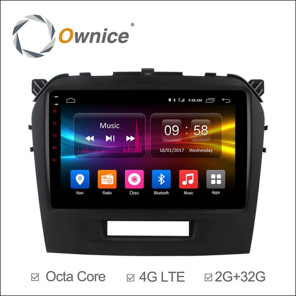 Android Ownice C500+  Vitara 9inch 2015/16-OL9621