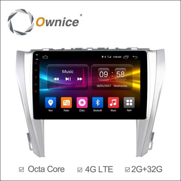 Android Ownice C500+ Camry 10.1inch 2014/16-OL1608