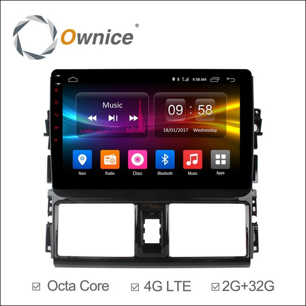 Android Ownice C500+ ViosYaris L 9inch 2013/15-OL1602