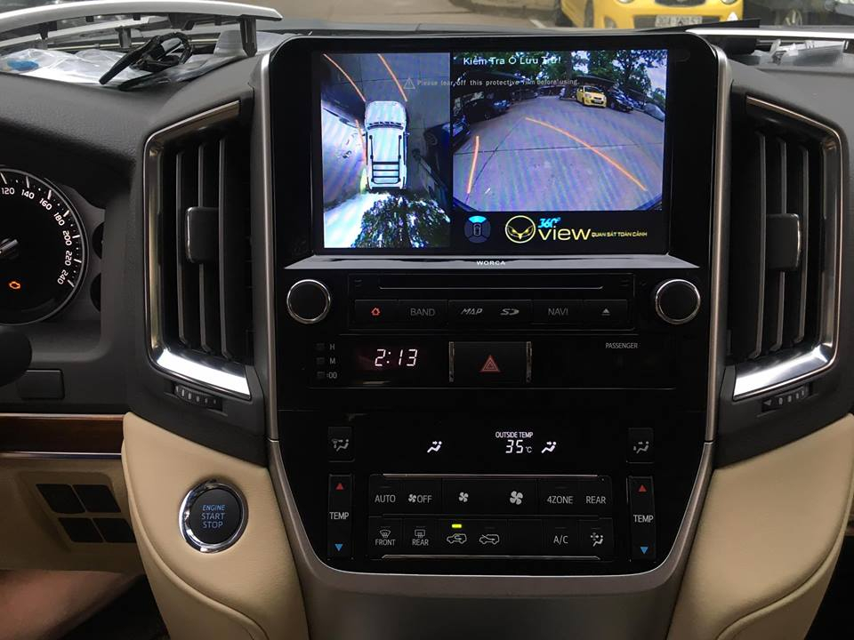 Camera 360 độ OVIEW LandCruiser Toyota 2017 EPS
