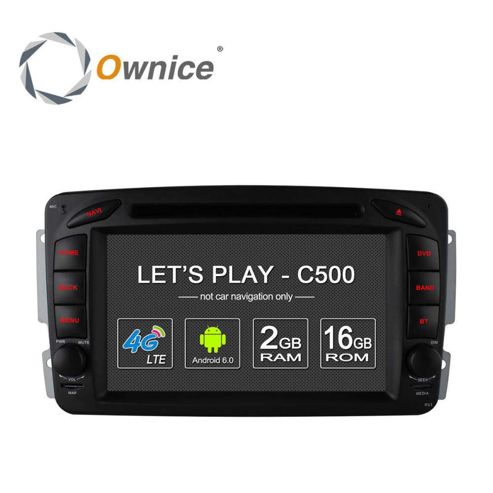 Android Ownice C500+ Benz 7inch W203 –OL7948
