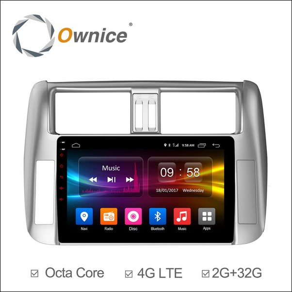 Android Ownice C500+ Prado 9inch 2010/13-OL9613