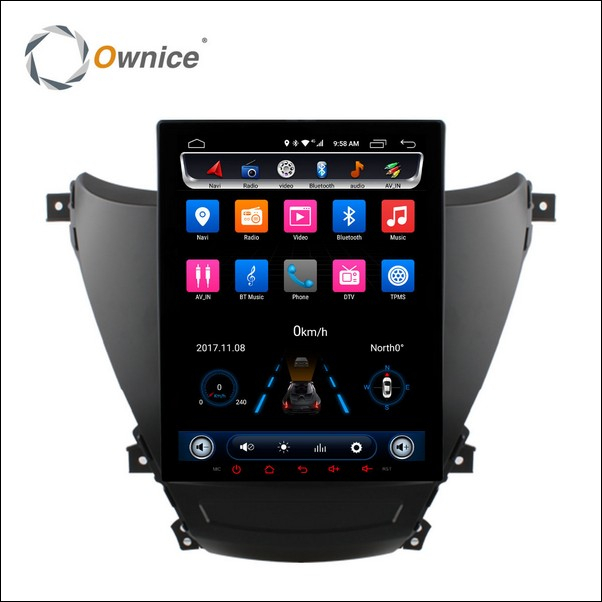 Android Ownice C600 Avante-2012-2016-S9711H