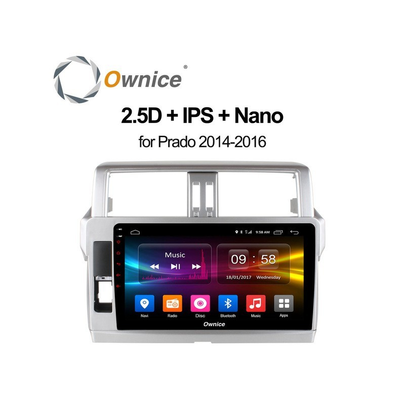 Android Ownice C500+ PRADO 10.1inch 2014/16-OL1614