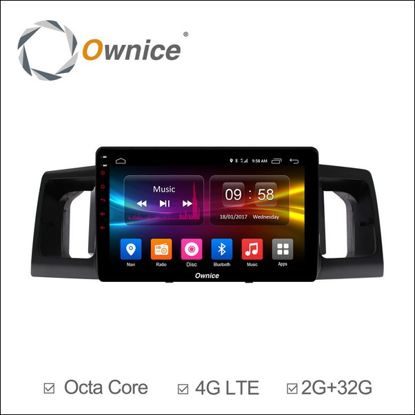 Android Ownice C500+ Toyota Universal 9inch 2013/16-OL9615