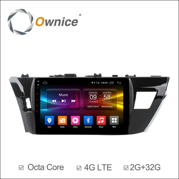 Android Ownice C500+ Toyota Corolla 10.1inch 2014/15-OL1603
