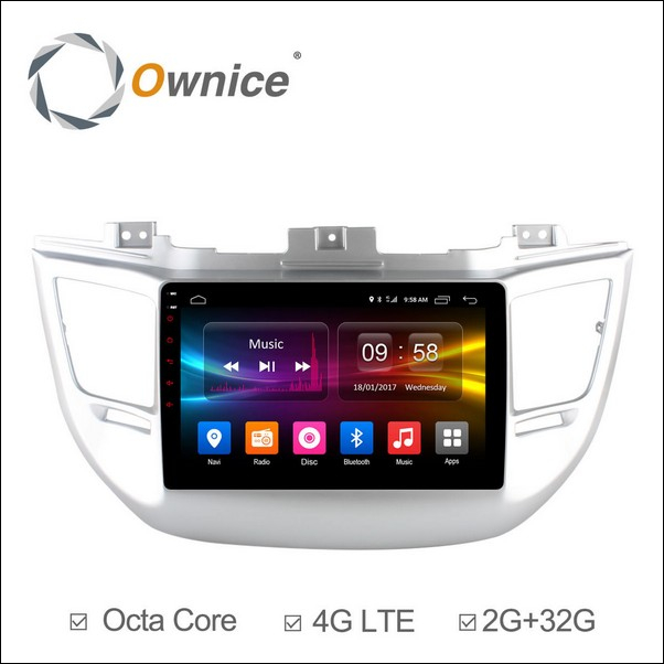 Android Ownice C500+ Tucson 9inch 2014/16-OL9705