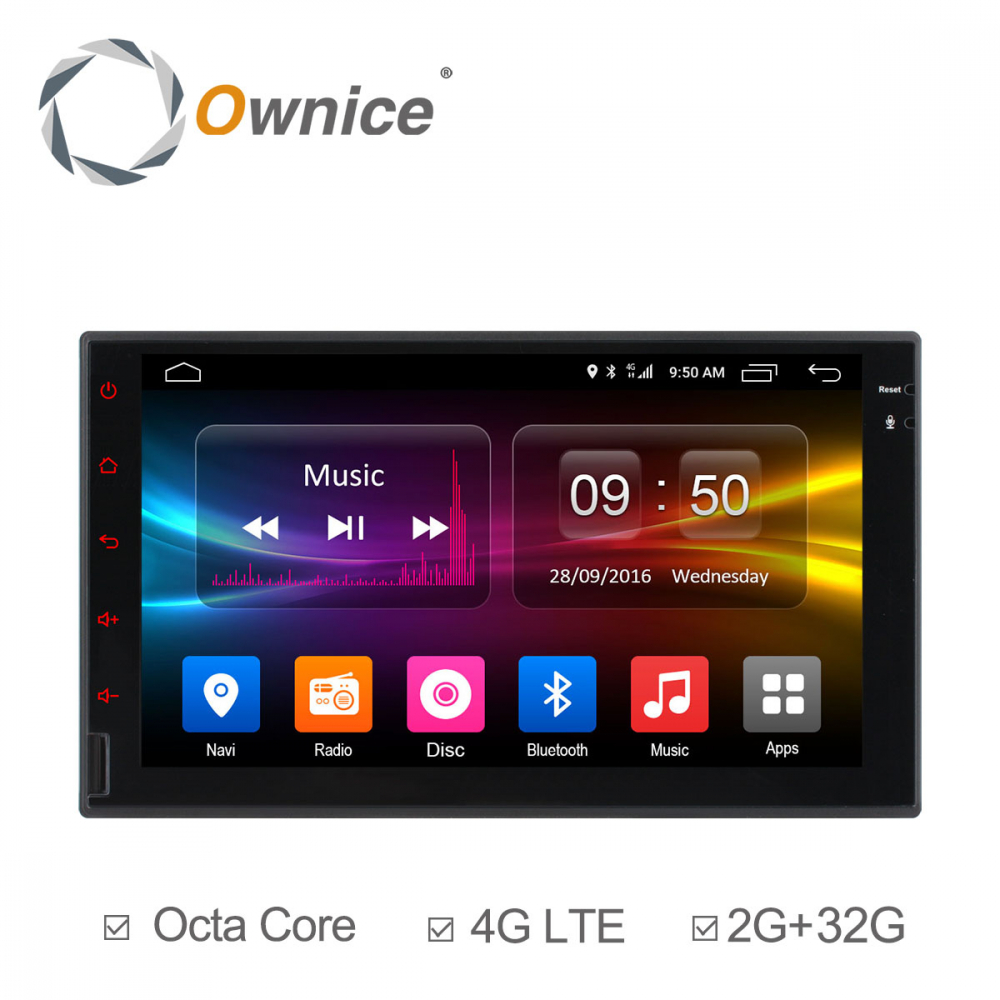 Màn Ownice C500+ Android 7 inch 4GLTE - OL7001G